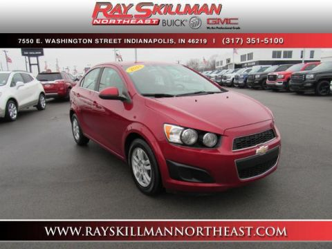 Used Chevrolet Sonic 4dr Sdn Auto LT